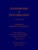 HANDBOOK of PSYCHOLOGY - VOLUME 9 HEALTH PSYCHOLOGY