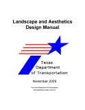 Landscape and Aesthetics Design Manual