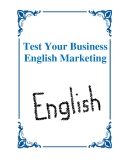 Test Your Business English Marketing