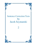 Sentence Correction Tests 2