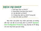 DỊCH VỤ DHCP