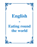 English - Eating round the world