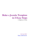 Make a Joomla Template in 5 Easy Steps