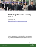 Core Banking with Microsoft Technology