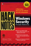 HackNotes  Windows Security Portable Reference