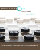 Staling Out With C++ Early (7th Edition)