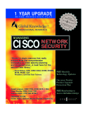 Book Managing Cisco Network Security