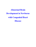 Abnormal Brain Development in Newborns with Congenital Heart Disease