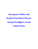 Emergency Duties and Deaths from Heart Disease among Firefighters in the United States