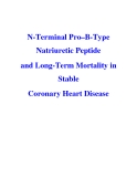 N-Terminal Pro–B-Type Natriuretic Peptide and Long-Term Mortality in Stable Coronary Heart Disease