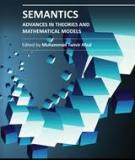 SEMANTICS – ADVANCES IN THEORIES AND MATHEMATICAL MODELS