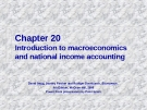 Chapter: Introduction to macroeconomics and national income accounting