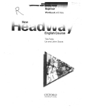 New Headway Beginner Workbook with key Tim Falla Liz and Jonh Soars