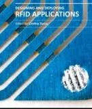 DESIGNING AND  DEPLOYING RFID  APPLICATION