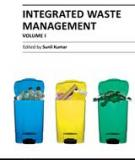 INTEGRATED WASTE MANAGEMENT – VOLUME I