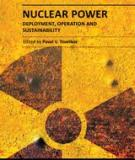 NUCLEAR POWER – DEPLOYMENT, OPERATION AND SUSTAINABILITY