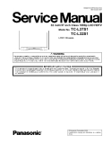 Service Manual 32 Inch/37 inch Class 1080p LCD HDTV