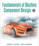 FUNDAMENTALS OF MACHINE COMPONENT DESIGN