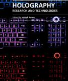 HOLOGRAPHY, RESEARCH AND TECHNOLOGIES_1