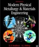 Modern Physical Metallurgy and Materials Engineering
