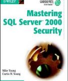 Mastering SQL Server 2000 Security