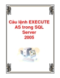 Câu lệnh EXECUTE AS SQL Server 2005