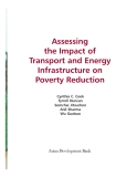 Assessing the Impact of Transport and Energy Infrastructure on Poverty ReductionCynthia