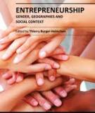 ENTREPRENEURSHIP GENDER, GEOGRAPHIES AND SOCIAL CONTEXT