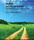 RURAL DEVELOPMENT – CONTEMPORARY ISSUES AND PRACTICES