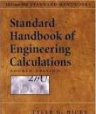 Standard Handbook of Engineering Calculations by Mc Graw- Hill