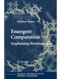 Emergent Computation Emphasizing Bioinformatics
