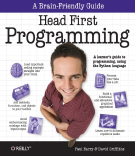 Advance Praise for Head First Programming