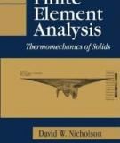 Finite Element Analysis: Thermomechanics of Solids