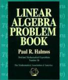 Linear Algebra Prolem Book