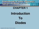 Fundamentals of Linear Electronics: Integrated & Discrete Circuitry
