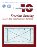 Erection bracing of low-rise structural steel buildings