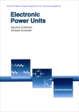 Electronic Power Units Manfred Schleicher Winfried Schneider