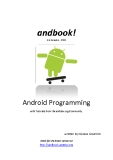 Android Programming with Tutorials from the anddev.org-Community.