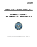 heating system operation and maintenance