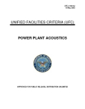 UNIFIED FACILITIES CRITERIA (UFC) POWER PLANT ACOUSTICSAPPROVED FOR