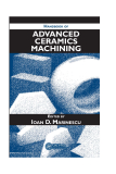 HANDBOOK OFADVANCED CERAMICS MACHINING I