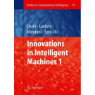 innovations in intelligent machines 1 javaan singh chahl et al eds