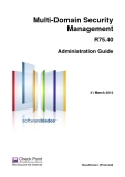 Multi-Domain Security Management R75.40 Administration Guide