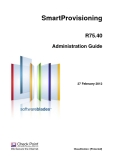 SmartProvisioning R75.40 Administration Guide
