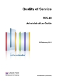 Quality of Service R75.40 Administration Guide