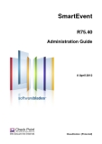 SmartEvent R75.40 Administration Guide