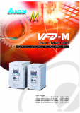 The VFD-M USER MANUAL