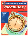 Minute Daily Practice Vocabulary