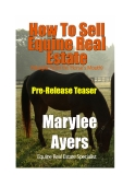 How To Sell Equine Real Estate(Straight From the Horses Mouth) PRE-RELEASE TEASER EDITION