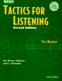 Tactics for listening - Second edition